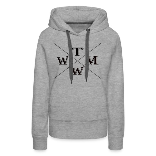 304280864 1023746067 TMWW the star to be - Women's Premium Hoodie