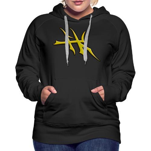 Blayde Symbol (Gold) - Women's Premium Hoodie