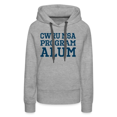CWRU MSA Program Alum - Women's Premium Hoodie