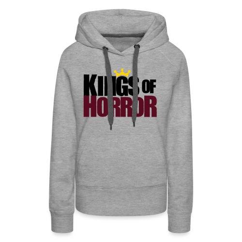 Kings of Horror Logo - Women's Premium Hoodie