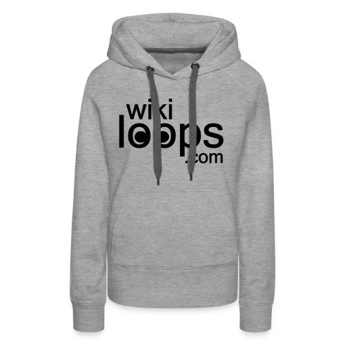 wikiloops logo sqare AI - Women's Premium Hoodie