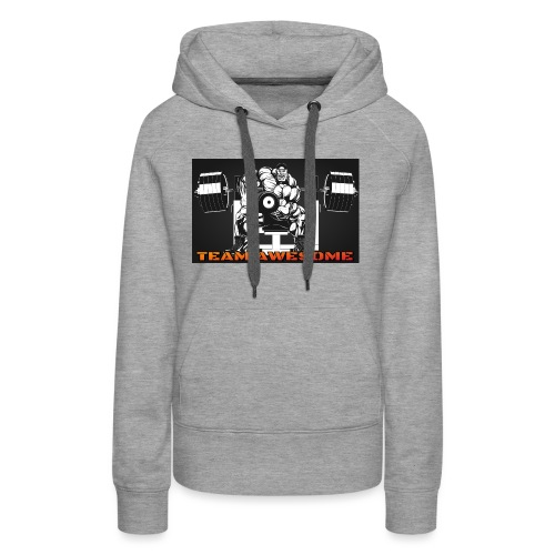 Team awesome - Women's Premium Hoodie