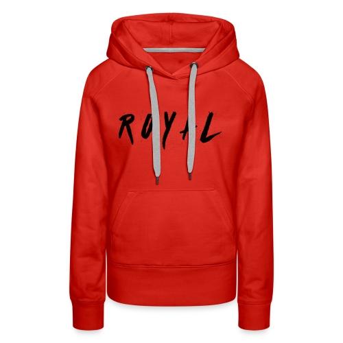 Royal Hoodie - Women's Premium Hoodie