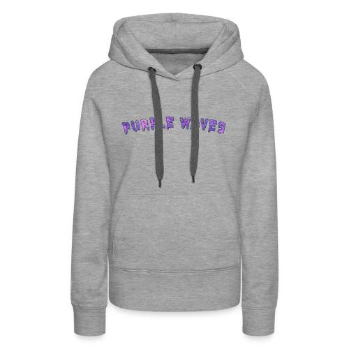 Purple Waves - Women's Premium Hoodie