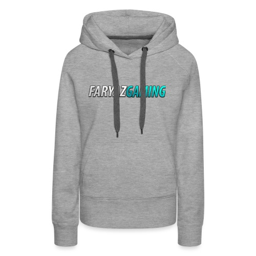 FaryazGaming Theme Text - Women's Premium Hoodie
