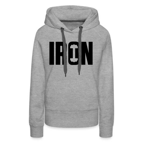 IRON WEIGHTS - Women's Premium Hoodie