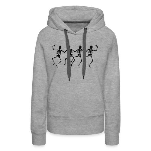 Dancing Skeletons - Women's Premium Hoodie