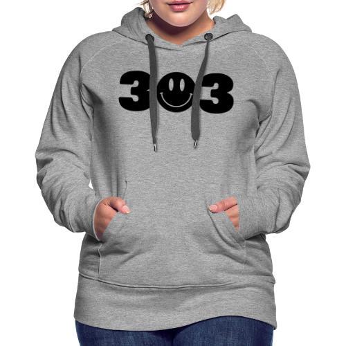 3 Smiley 3 - Women's Premium Hoodie