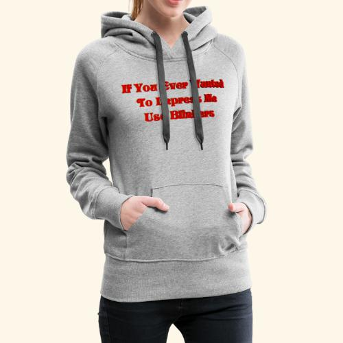 safety First 6 Merch - Women's Premium Hoodie