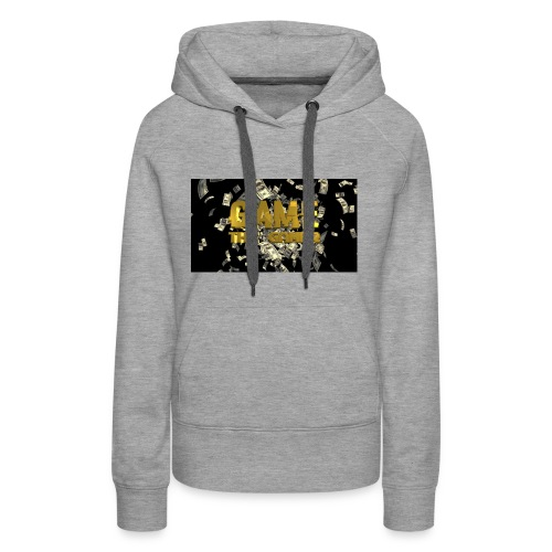 Game the gamer sweater - Women's Premium Hoodie
