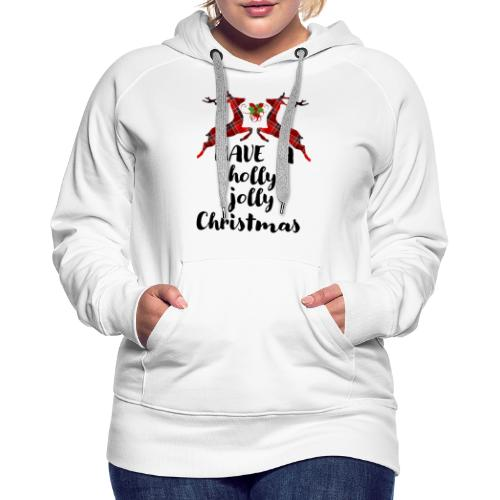 Holly Jolly Christmas - Women's Premium Hoodie