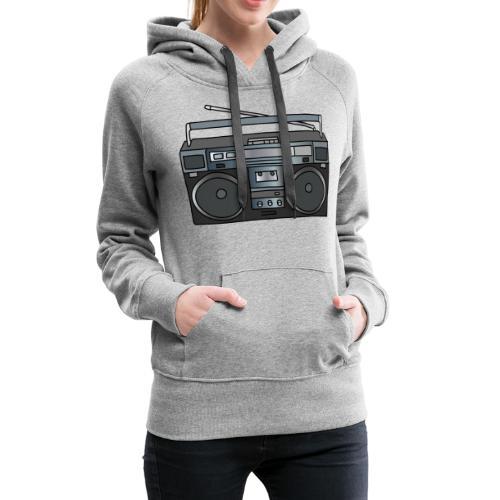 Boombox - Women's Premium Hoodie