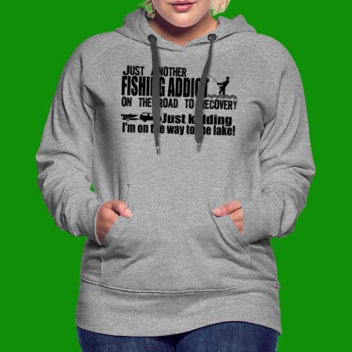 FISHING ADDICT - Women's Premium Hoodie