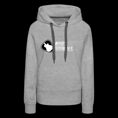 Music Tutorials Logo - Women's Premium Hoodie