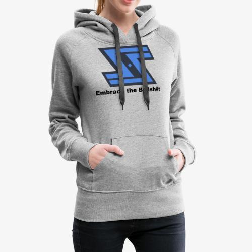 Sir Swag official logo design - Women's Premium Hoodie
