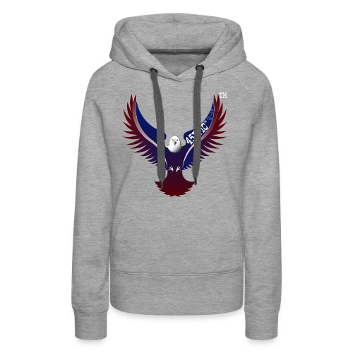 45EPIC EAGLE dx4/dt=ic Elliot McGucken Fine Art TM - Women's Premium Hoodie