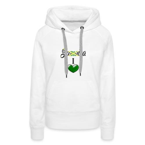 jamaica i love - Women's Premium Hoodie