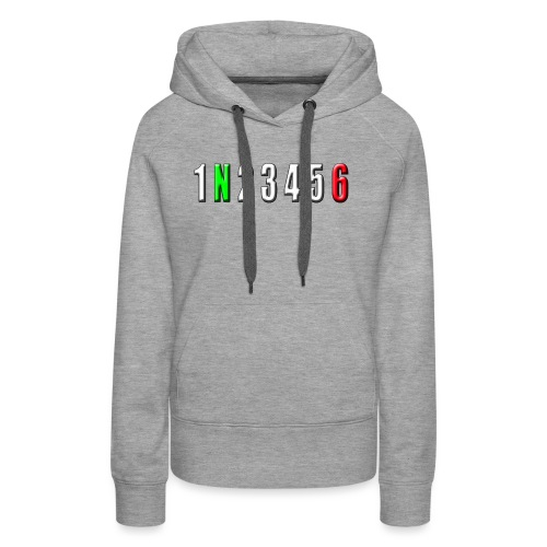 white number horizon - Women's Premium Hoodie