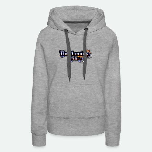 BIG TheFlamingZebra Logo - Women's Premium Hoodie