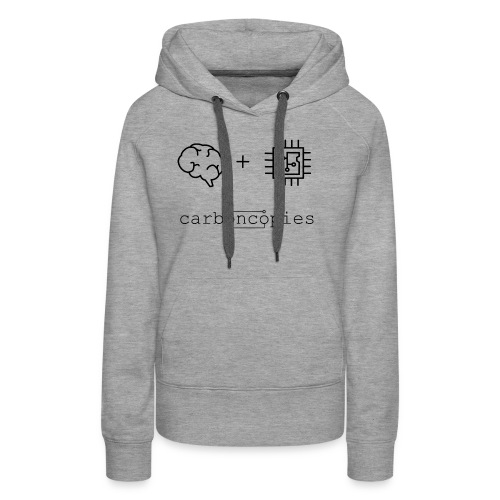 Carboncopies T-Shirt (Black) - Women's Premium Hoodie