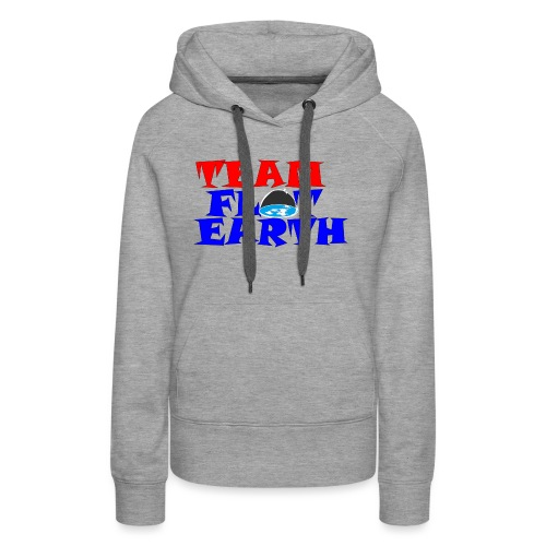 TEAM FLAT EARTH - Women's Premium Hoodie