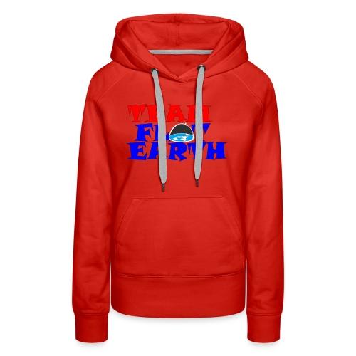 TEAM FLAT EARTH - Women's Premium Hoodie