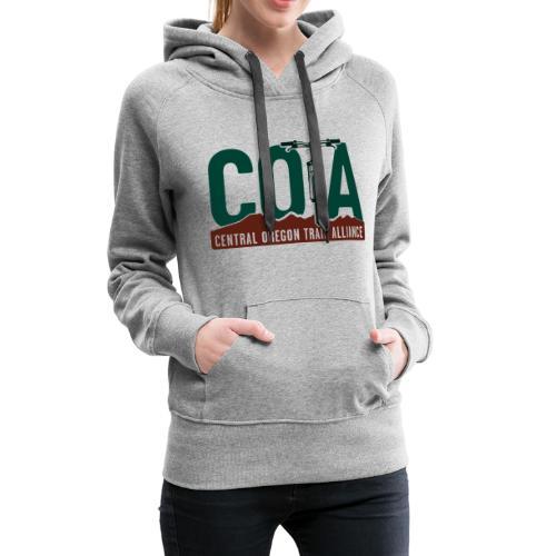 2019 COTA main logo - Women's Premium Hoodie
