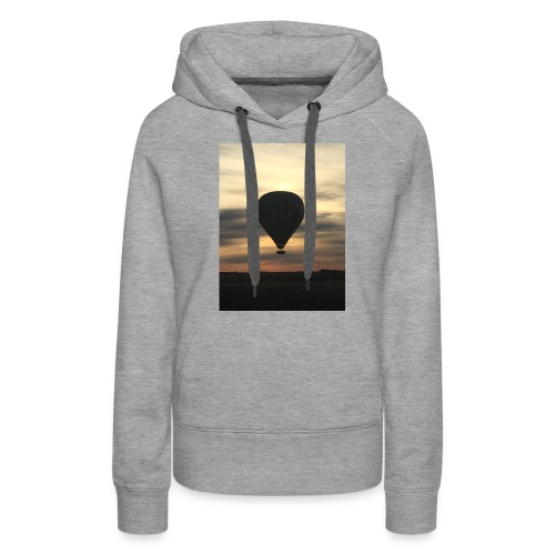 hot air balloon - Women's Premium Hoodie