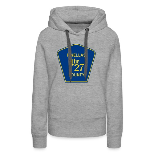Pinellas the727 County tee - Women's Premium Hoodie