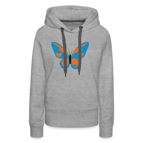 Butterfly with Love - Women's Premium Hoodie