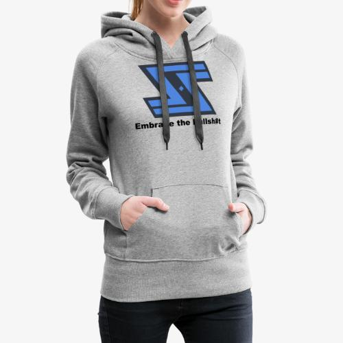 Sir Swag official logo design - Women's Premium Hoodie