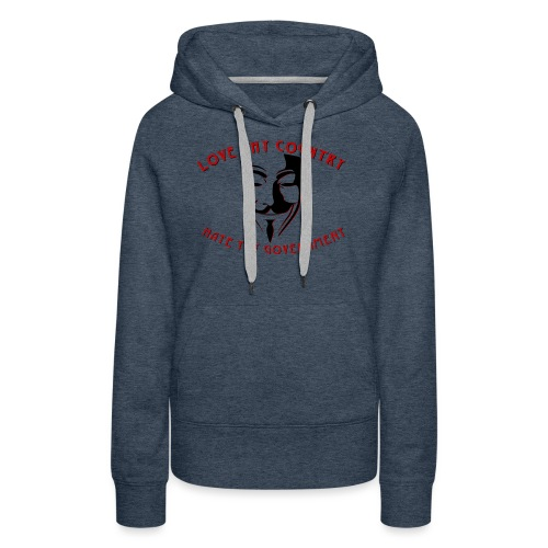 love thy country - Women's Premium Hoodie
