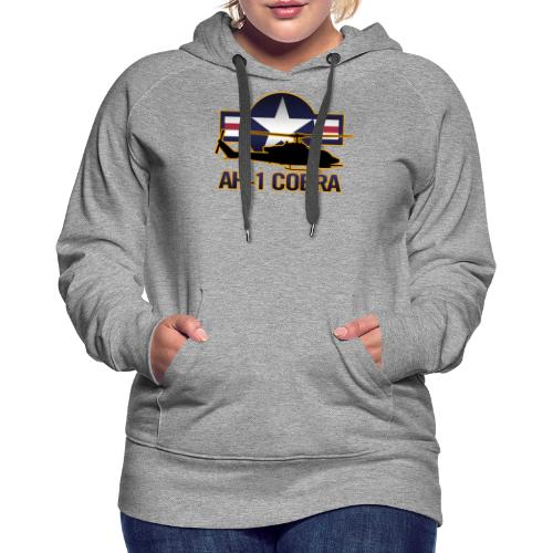 AH-1 Cobra Helicopter - Women's Premium Hoodie