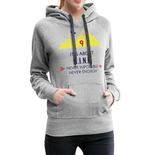 Design Mountain NEW - Women's Premium Hoodie