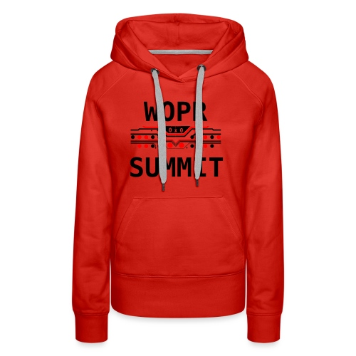 WOPR Summit 0x0 RB - Women's Premium Hoodie