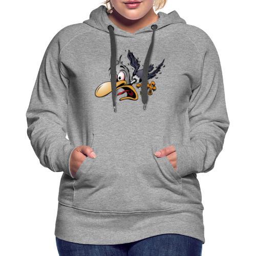 Crazy Bird - Women's Premium Hoodie