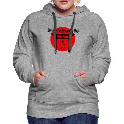 Senshin: The Enlightened Mind - Women's Premium Hoodie