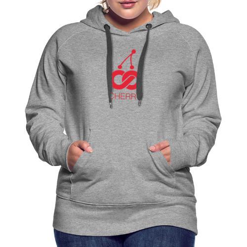 Cherry Red Logo - Women's Premium Hoodie