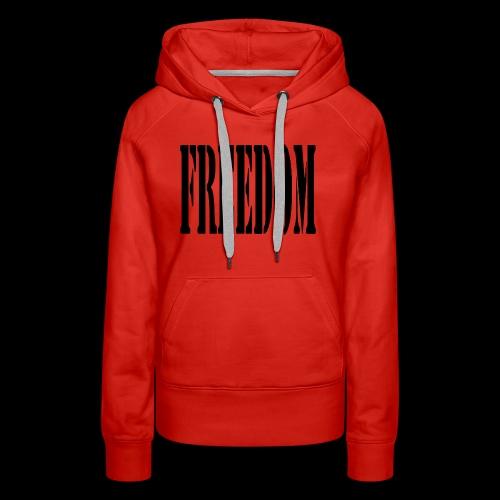 Freedom Logo - Women's Premium Hoodie