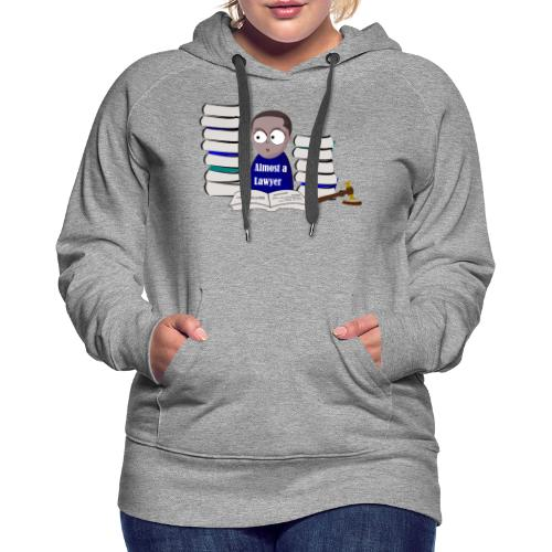 Almost a Lawyer Man African american - Women's Premium Hoodie