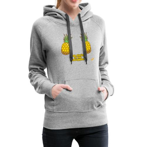 Pineapples - Women's Premium Hoodie