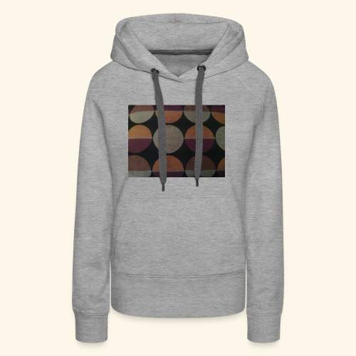 Circle patterns colour - Women's Premium Hoodie