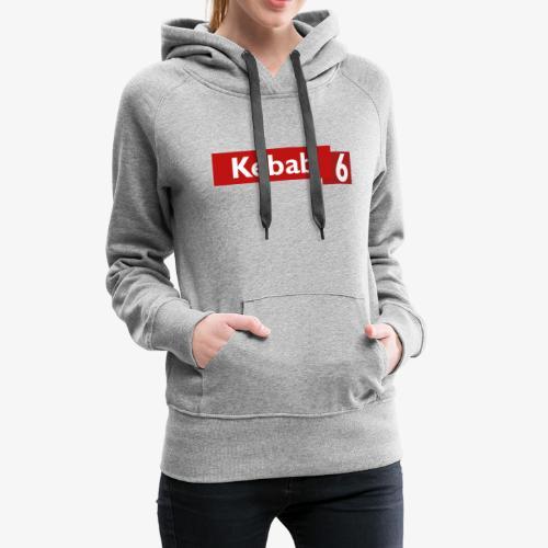 Kebab red logo - Women's Premium Hoodie