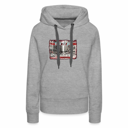 Blood in The Streets T-shirt - Women's Premium Hoodie