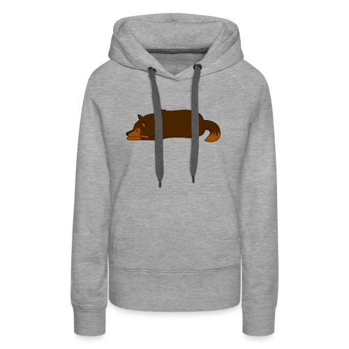 Sleeping Wolf - Women's Premium Hoodie