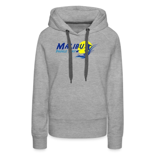 Malibu Paddle Surf T-shirts Hats Hoodies - Women's Premium Hoodie