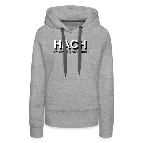 HACH Design Logo - Women's Premium Hoodie