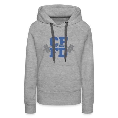 CFFD Barbell - Women's Premium Hoodie