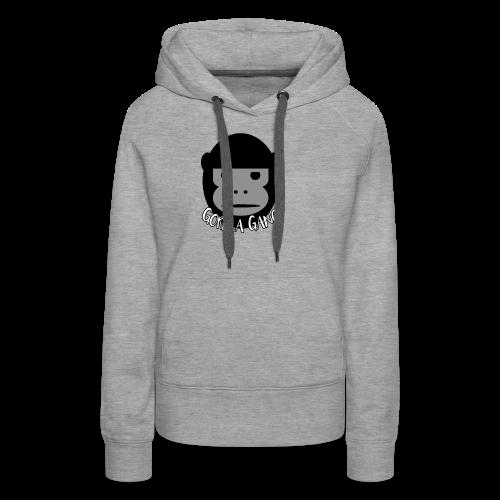 Gorilla Gang Original Insignia - Women's Premium Hoodie