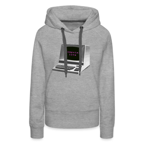 Computer Love - Women's Premium Hoodie